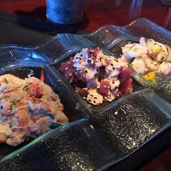Trio Of Seafood Sampler - Mitchell's Fish Market - Tampa, Tampa, FL