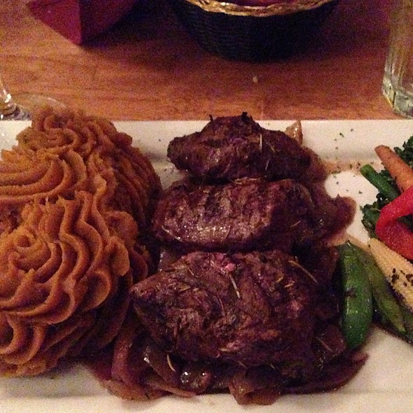 Elk Medallions  - Twin Owls Steakhouse, Estes Park, CO