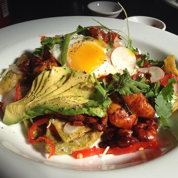 Shrimp Chilaquiles  - Artisan, Paso Robles, CA