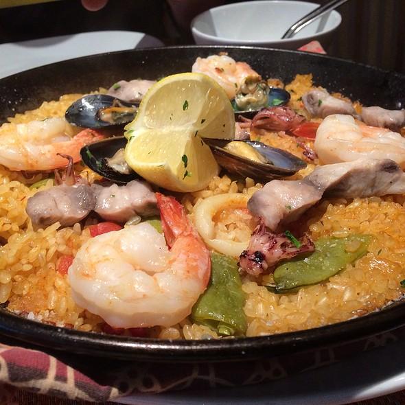 Seafood Paella - Canela Bistro & Wine Bar, San Francisco, CA