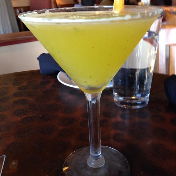 Basil Mandarin Martini - The Hardware Store, Vashon, WA