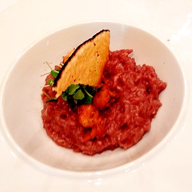 Red Wine Risotto - The Georgian, Seattle, WA