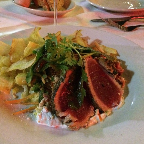 Herb Seared Yellowfin Tuna - 32 East, Delray Beach, FL