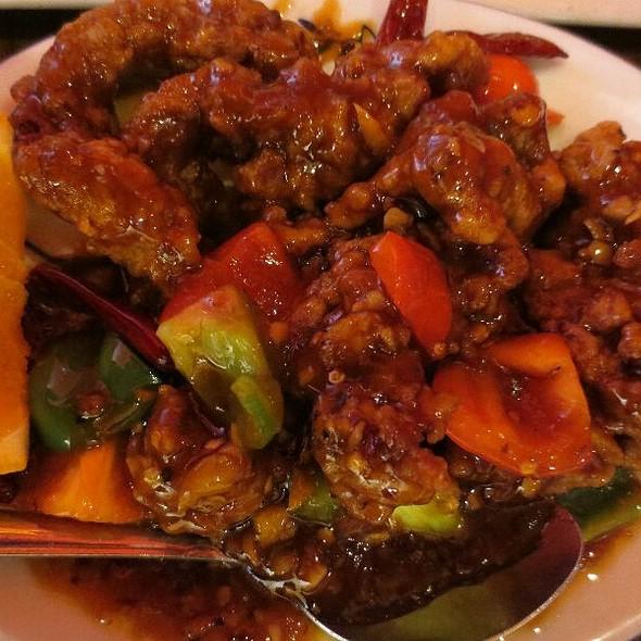 Orange Beef - Lao Sze Chuan Uptown, Chicago, IL
