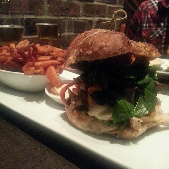 Cider Brined Chicken Sandwich - Hunter's Landing, Toronto, ON