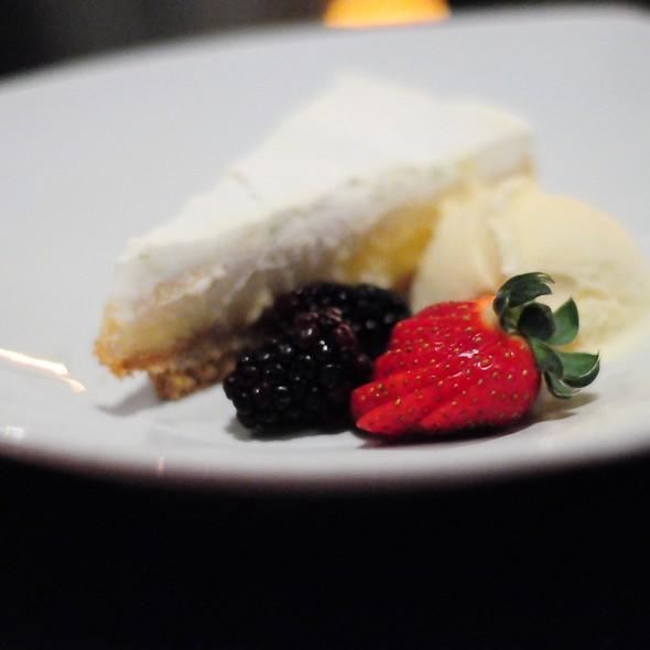 Lemon Icebox Cake - Café Trio, Kansas City, MO