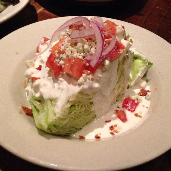 Wedge Salad - Doc Crow's Southern Smokehouse & Raw Bar, Louisville, KY