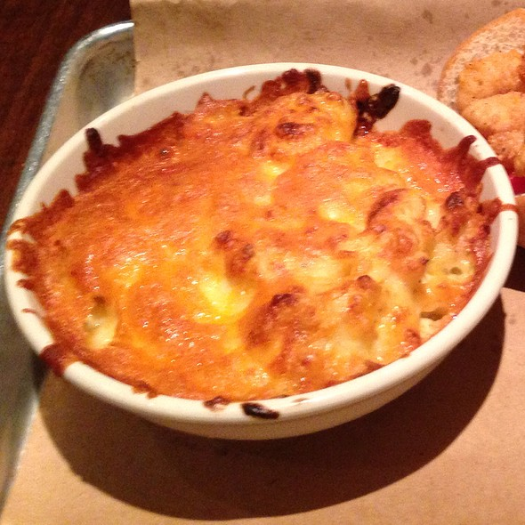 Mac N' Cheese - Doc Crow's Southern Smokehouse & Raw Bar, Louisville, KY