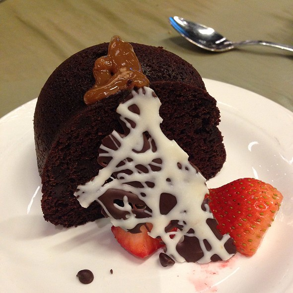 Chocolate Caramel Cake - Spindletop, Houston, TX
