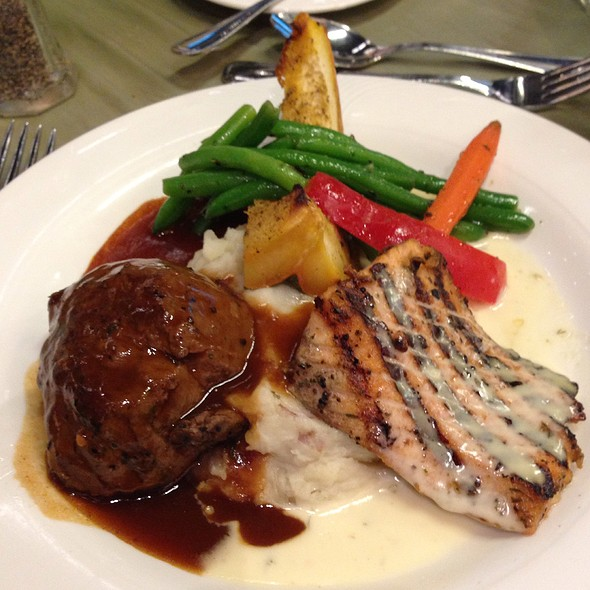 Steak & Blackened Fish - Spindletop, Houston, TX