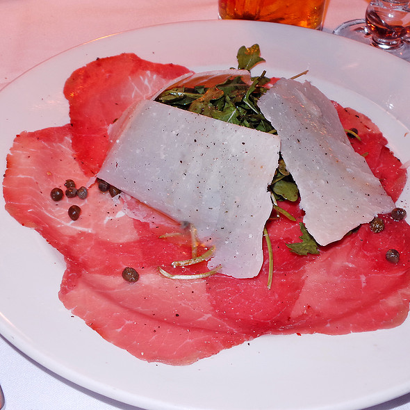 Carpaccio di Manzo - Lattanzi, New York, NY