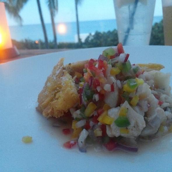 conch ceviche - La Côte - Fontainebleau Miami Beach, Miami Beach, FL