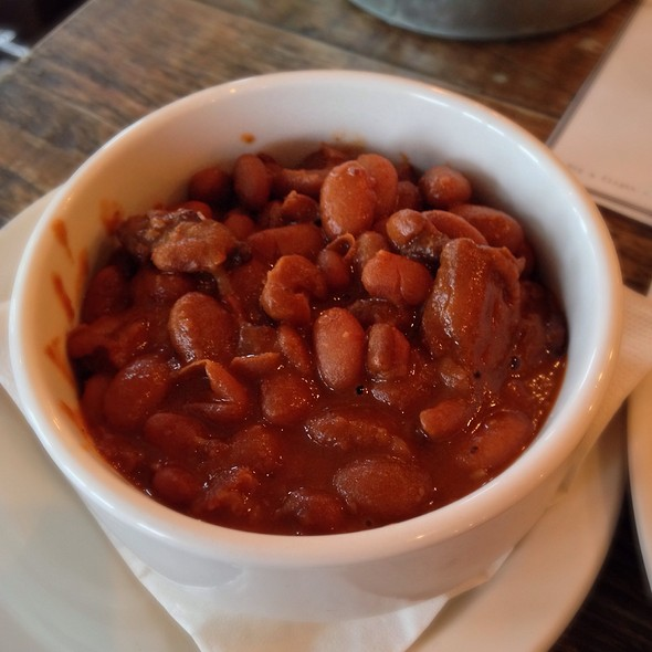 Cowboy Smoked Beans - Duke's Brew & Que, London