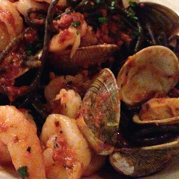 Sauteed Mussels & Rock Shrimp - Lombardino's, Madison, WI