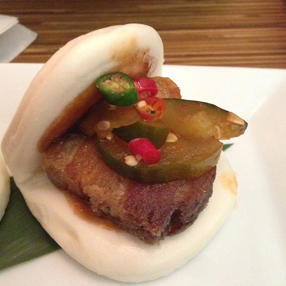 Pork Belly Steamed Bun - Uni Sushi, The Woodlands, TX