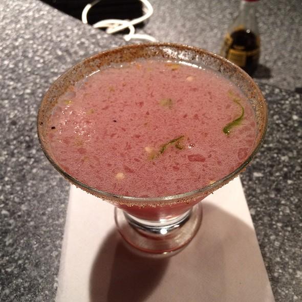 Jalapeno Hibiscus Martini - Sushi Zushi - Downtown, San Antonio, TX