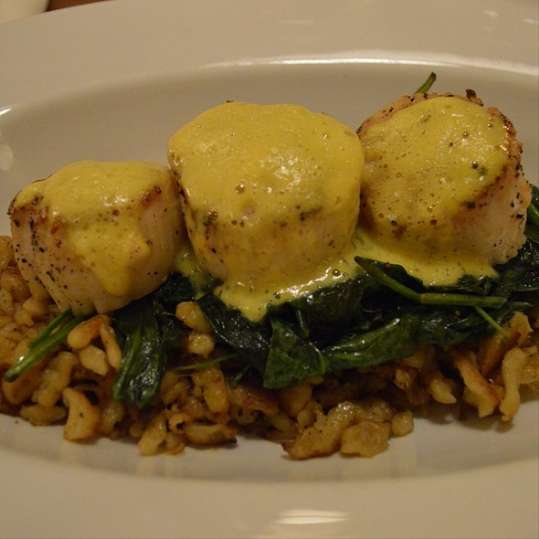 Sea Scallop - Print Works Bistro, Greensboro, NC