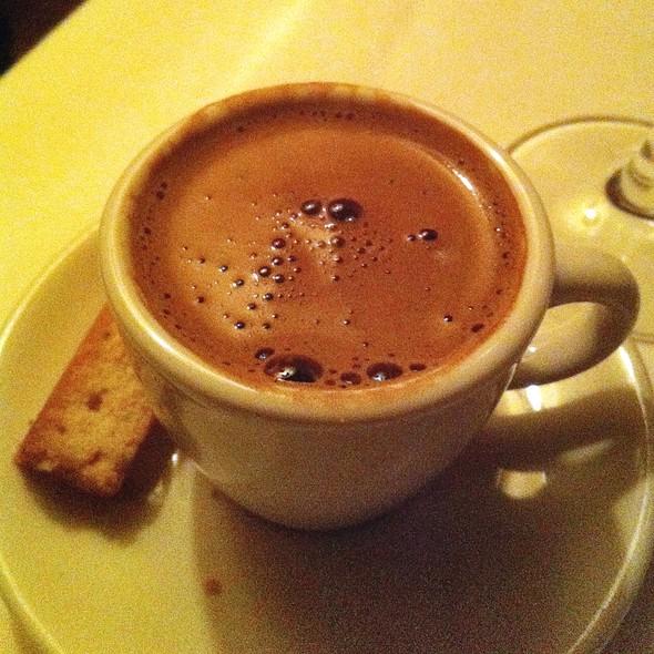 Greek Coffee - Kokkari Estiatorio, San Francisco, CA