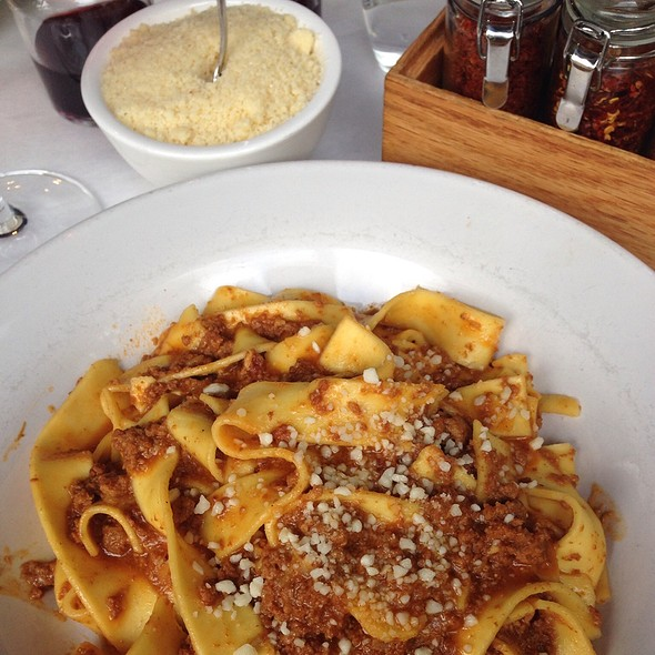 Veal Bolognese Over Fresh Papardelle - Boulevard 18, New Canaan, CT