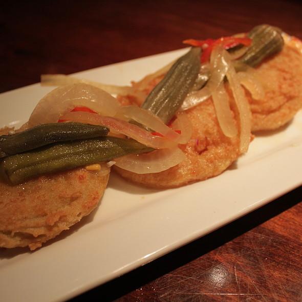 Fried Green Tomatoes - Amen Street Fish + Raw Bar, Charleston, SC