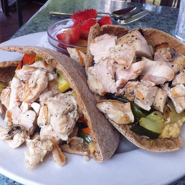 Chicken Pita - Dream Cafe, Dallas, TX