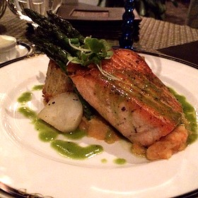 Seared Loch Duart Salmon - Fairview Dining Room, Durham, NC