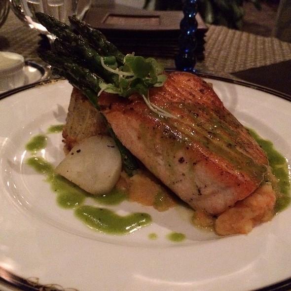 Seared Loch Duart Salmon - Fairview Dining Room, Durham, NC