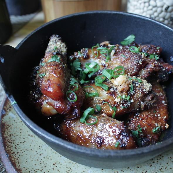 Kentuckyaki Glazed Chicken Wings  - Husk - Charleston, Charleston, SC