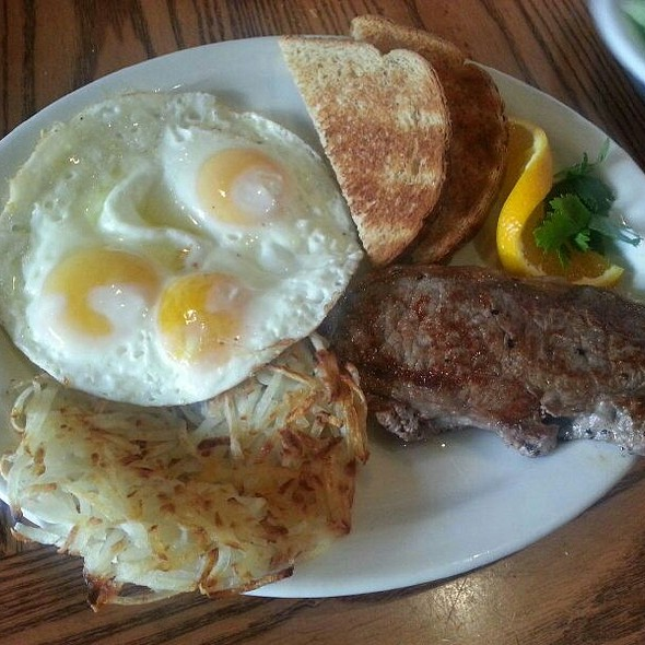 Steak and Eggs - Osteria Panevino, San Diego, CA