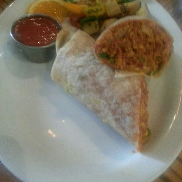 Breakfaat Burrito - Osteria Panevino, San Diego, CA