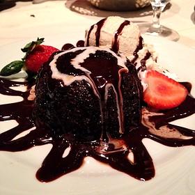 Petit Gateau - Fogo de Chao Brazilian Steakhouse - Houston, Houston, TX