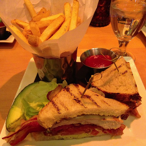 Grilled Chicken Club - Rustic Kitchen, Boston, MA