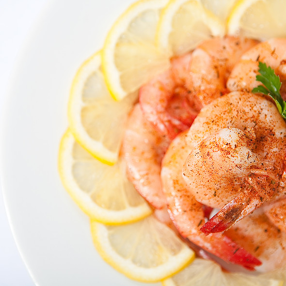 Steamed Shrimp - Pearl's Saltwater Grille, Savannah, GA