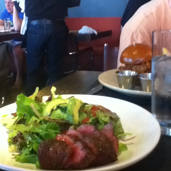 Grilled Flat Iron Steak Salad - AKASHA, Culver City, CA