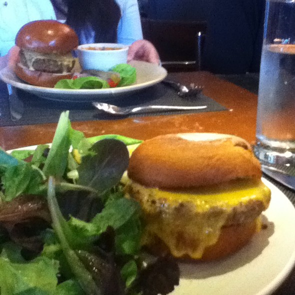 Cheddar Cheese Turkey Burger - AKASHA, Culver City, CA