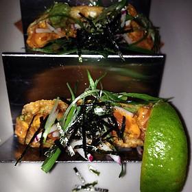 Salmon Tartare Tacos - The Smith - Midtown, New York, NY