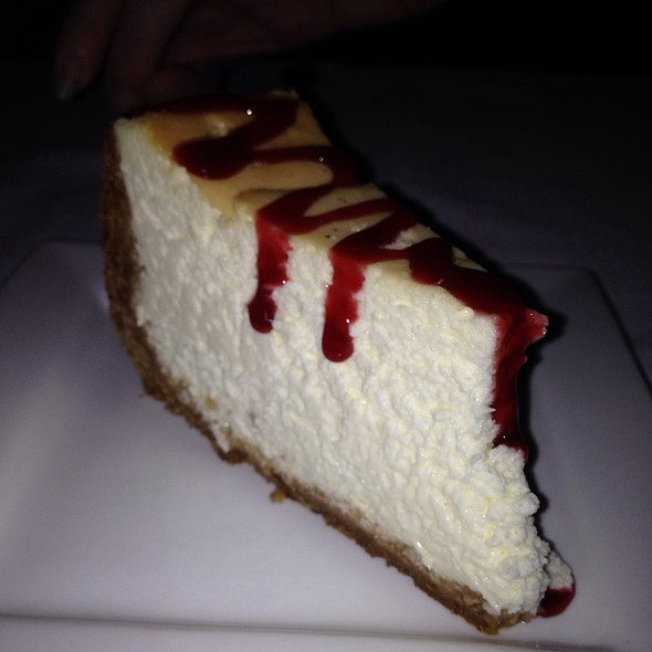 Cheesecake - Rapscallion Seafood House & Bar, Reno, NV
