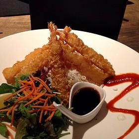 Tempura Shrimp - Hush Restaurant & Bar, Toronto, ON