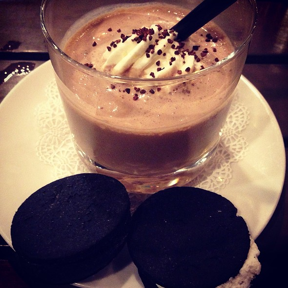 Chocolate Malt Milkshake & House Made Oreos - Black Sheep Restaurant, Jacksonville, FL