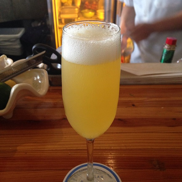 Mimosa - Perla's Seafood and Oyster Bar, Austin, TX