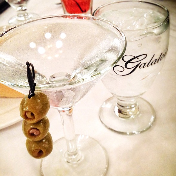 Dirty Chopin Martini - Galatoire's Restaurant, New Orleans, LA