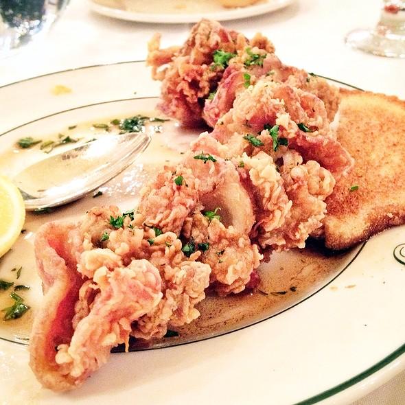oysters en brochette - Galatoire's Restaurant, New Orleans, LA