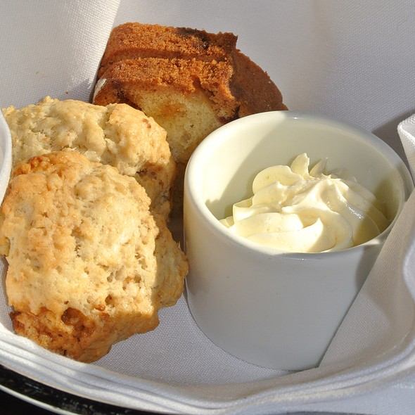 Bread & Scone Basket - White Dog Cafe - University City, Philadelphia, PA