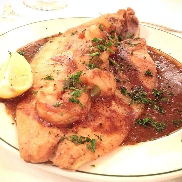 Pompano Shrimp Etouffee - Galatoire's Restaurant, New Orleans, LA