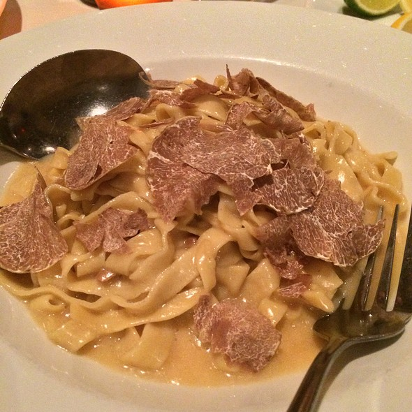 Tagliatelle with Truffles - Prezza, Boston, MA