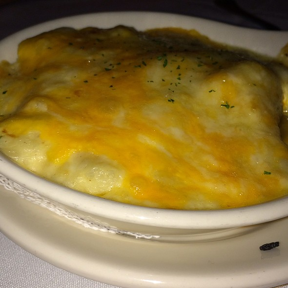 Potato Au Gratin - Myron's at Alon Town Center, San Antonio, TX