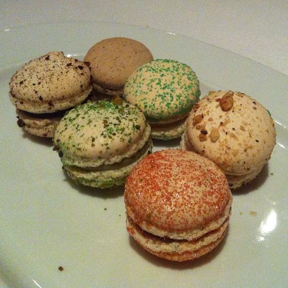 Macarons - CinCin Ristorante + Bar, Vancouver, BC