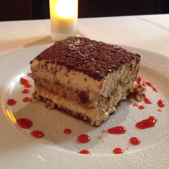 Authentically Divine Tiramisu - Il Cortile Ristorante, Paso Robles, CA