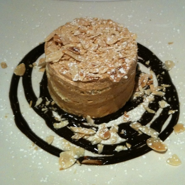 Hazelnut & Roasted Almond Mousse Cake - Fringale, San Francisco, CA