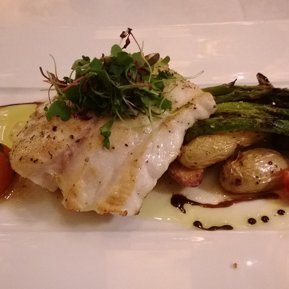 Pan Seared Florida Black Grouper - Scape American Bistro, St. Louis, MO